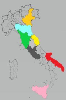 il grid parity fotovoltaico è più facile da raggiungere in Italia nelle regioni Veneto, Toscana, Marche, Lazio, Emilia Romagna, Puglia, Sicilia
